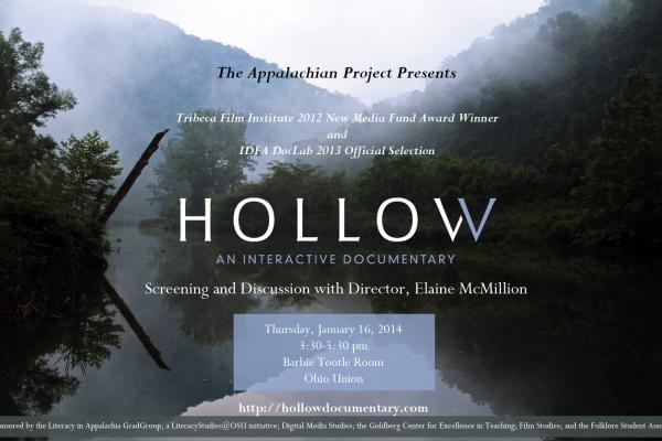 flier for screening of Hollow