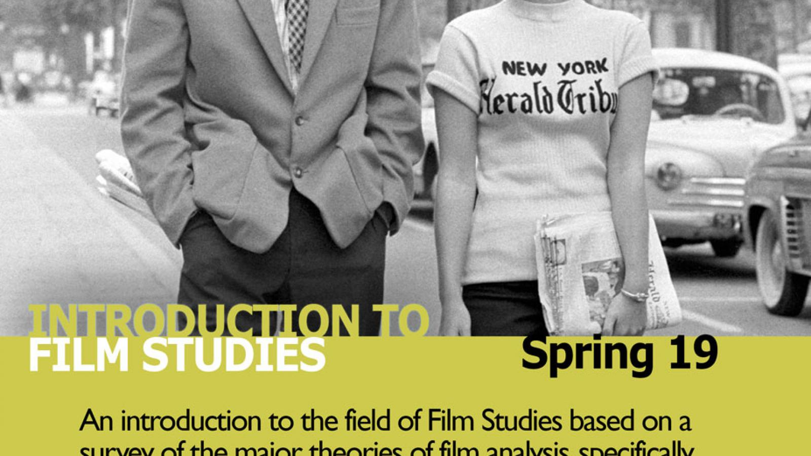 Film Studies 2271 Sp 19 Flier
